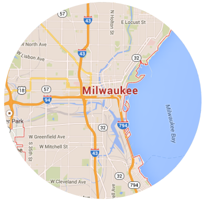 Milwaukee Garage Door Service Areas